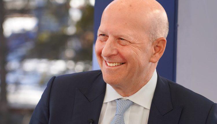 Goldman Sachs CEO David Solomon says 90% of small businesses