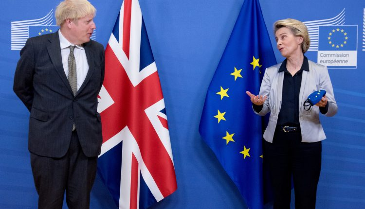 European stocks climb amid hopes for Brexit trade deal