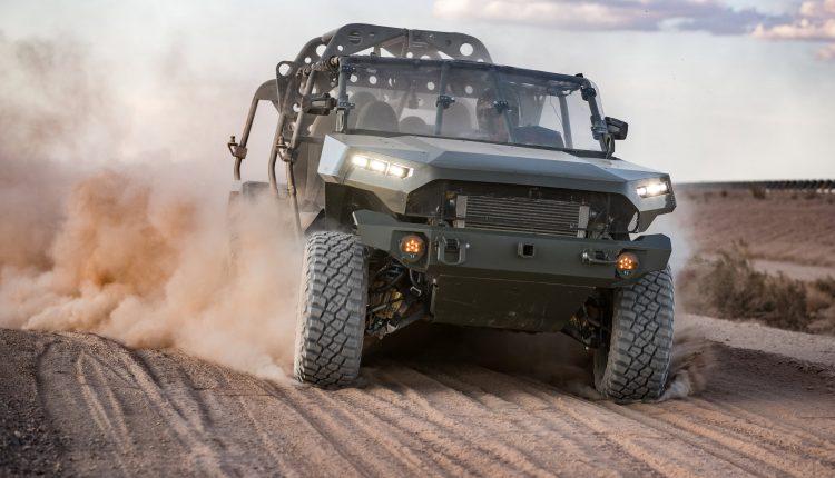 GM defense unit sees $25 billion market in EV and
