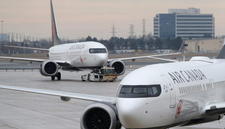 Air Canada Boeing 737 Max ferry flight diverts after engine