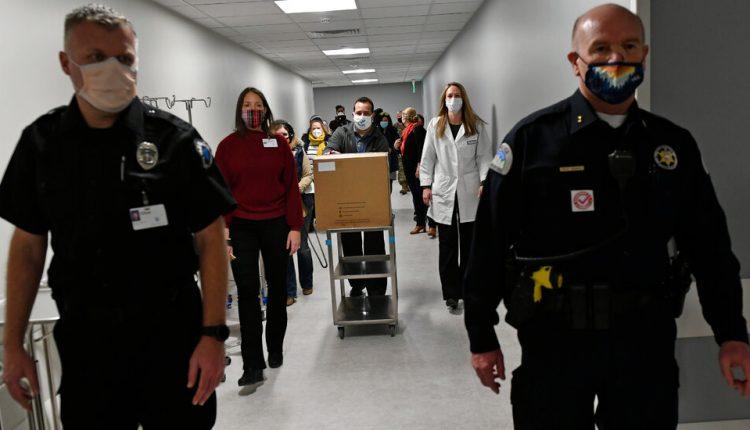 First Coronavirus Vaccines Head to States, Starting Historic Effort