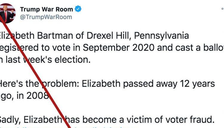 Pennsylvania man is accused of casting Trump vote for his