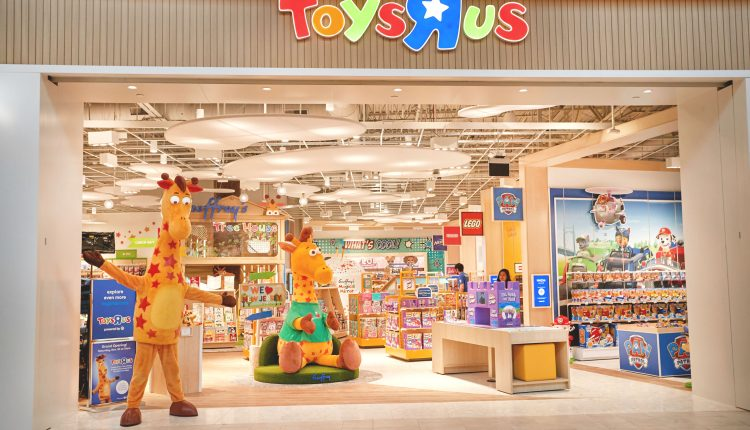 Toys R Us' last two stores in the U.S. are