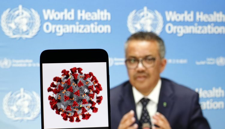World Health Organization holds press briefing as countries face Covid