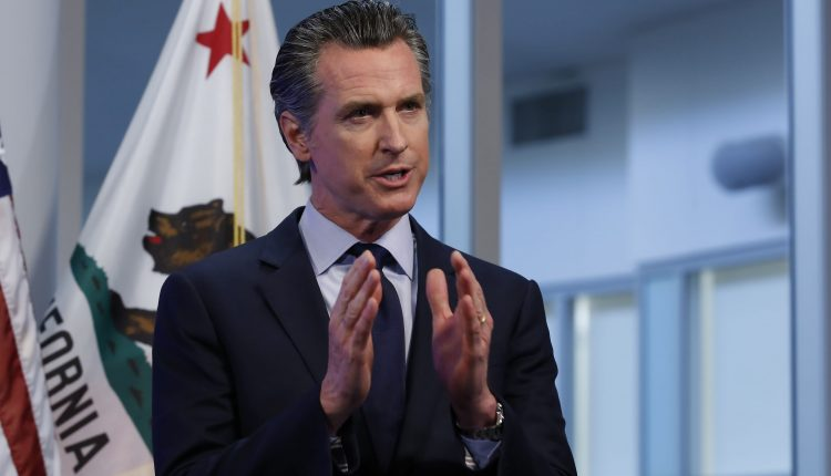 California governor cancels Covid briefing over safety concerns