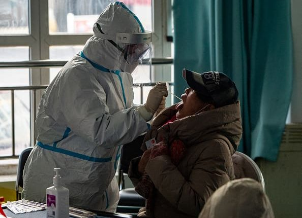 China locks down part of province outside Beijing as coronavirus