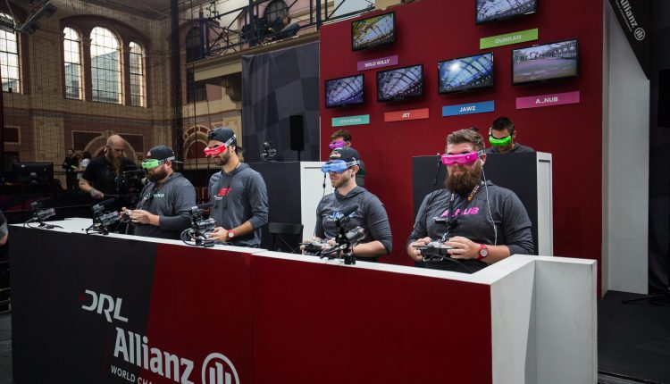 DraftKings and Drone Racing League partnership lets you bet on