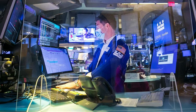 Stock futures decline as volatile Wall Street week continues