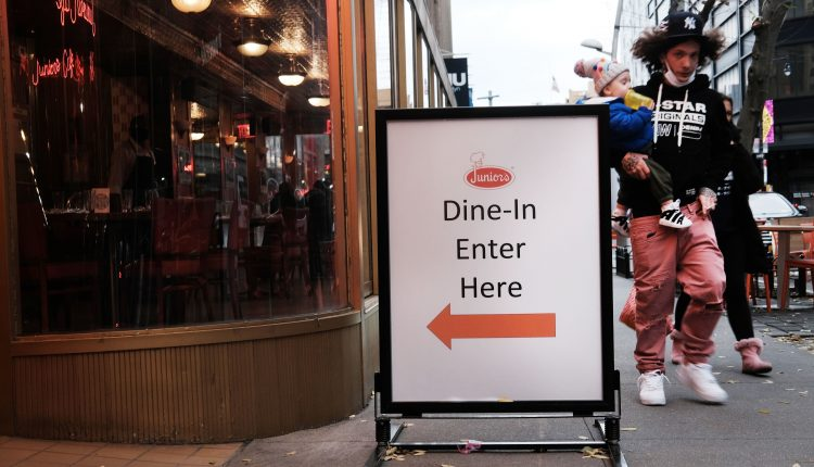 New York City restaurants could reopen indoor dining on Valentine's