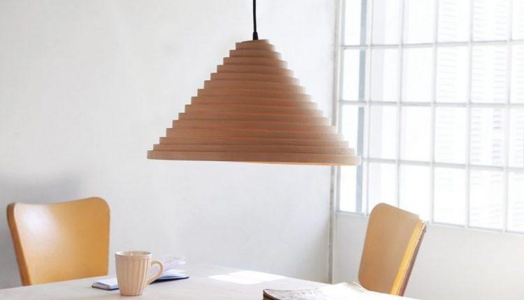 The Espinel Pendant Light Shows off Good Design + Concern