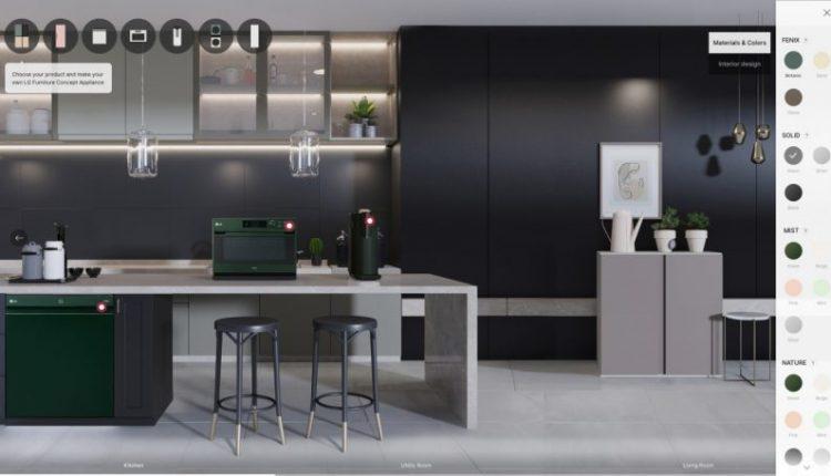 LG Furniture Concept Appliances Introduces Mix & Match Customization