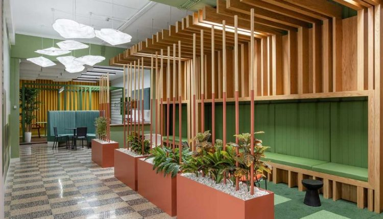 RB Pharma Gets a New, Bright + Colorful Office Despite