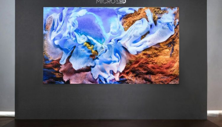 """110"""" Samsung MicroLED Is All Screen by Design"""