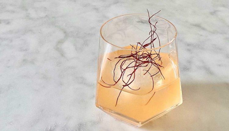 Drink Up! Radiant Red Pepper Cooler Cocktail Recipe