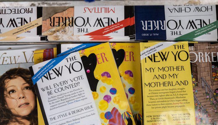 The New Yorker Magazine Union Employees Stage Daylong Walkout