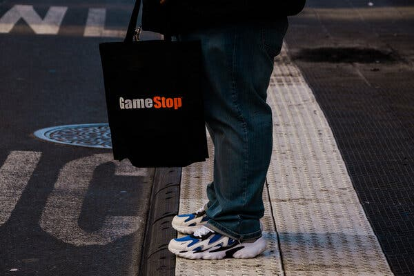 GameStop Shares Surge as Restrictions Are Lifted: Live Updates