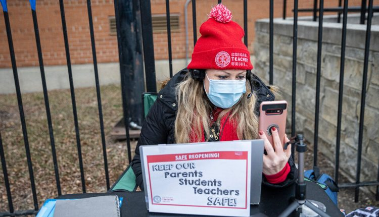 Chicago Teachers Reach a Tentative Deal to Reopen Schools.