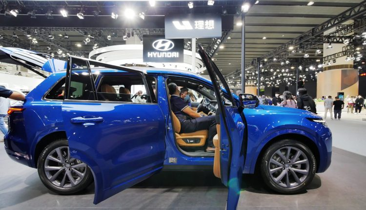 Chinese electric car start-up Li Auto expects to sell fewer