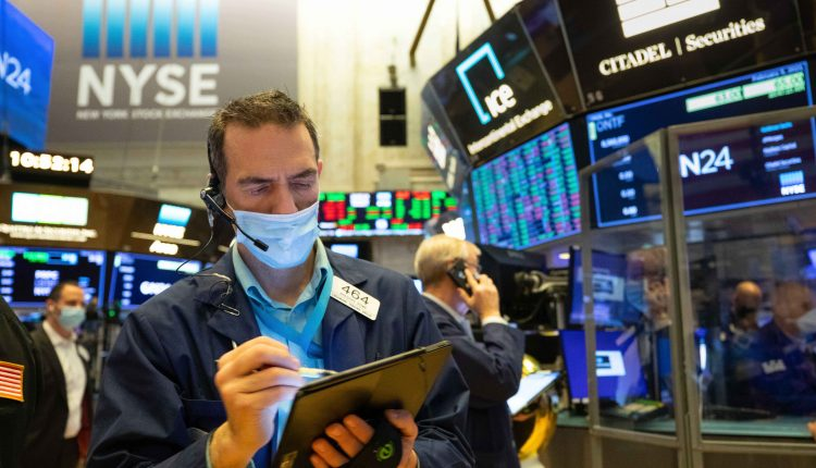 Stock futures are flat as major averages try to finish