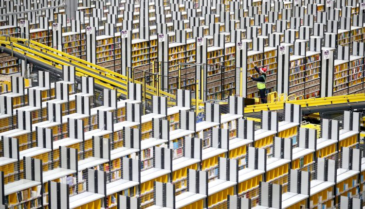 European warehouse demand surges as e-commerce giants snap up spaces