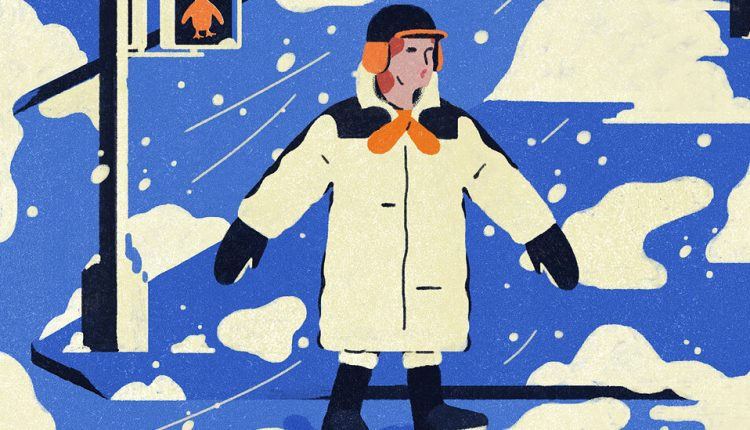 How to Walk Safely in the Snow, Ice and Slush