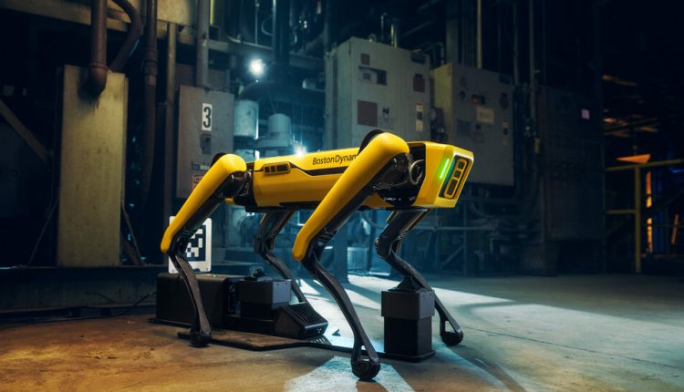 Digidog, a Robotic Dog Used by the Police, Stirs Privacy