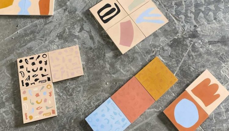 Concrete Collaborative Unveils Playfully Patterned Tiles From Alex Proba