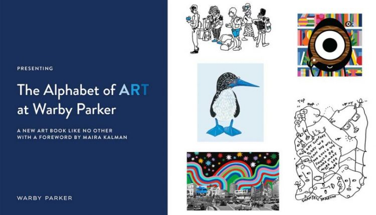 The Alphabet of Art at Warby Parker Celebrates the Brand's