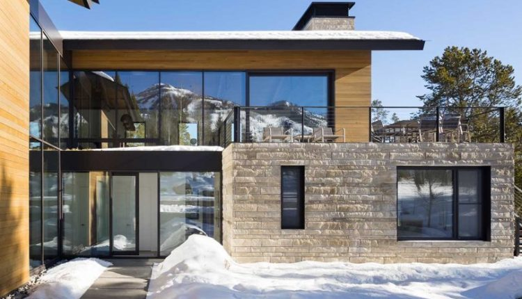A Wyoming Escape Merging European Design + Asian-Inspired Minimalism