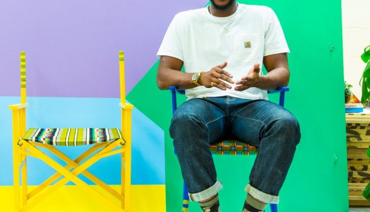 Yinka Ilori Turns Discarded Chairs into Sculptural Pieces With a