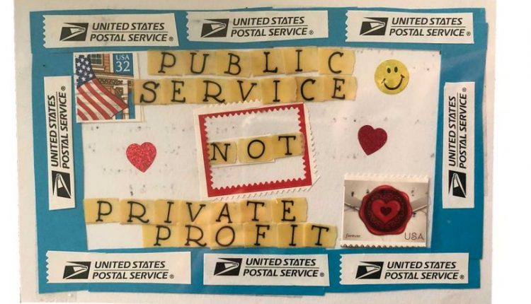 Mark Mothersbaugh + Beatie Wolfe Collect Postcards for Democracy To