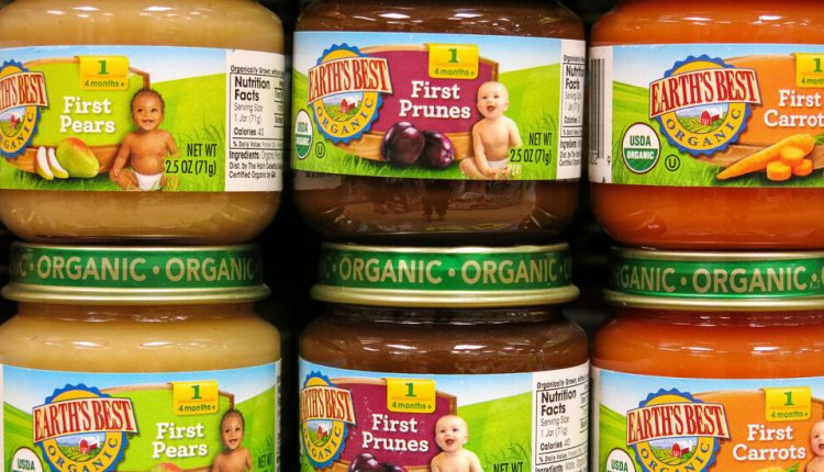 Some Baby Food May Contain Toxic Metals, U.S. Reports