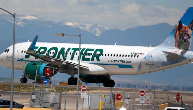 Frontier Cancels Flight, Citing Maskless Passengers