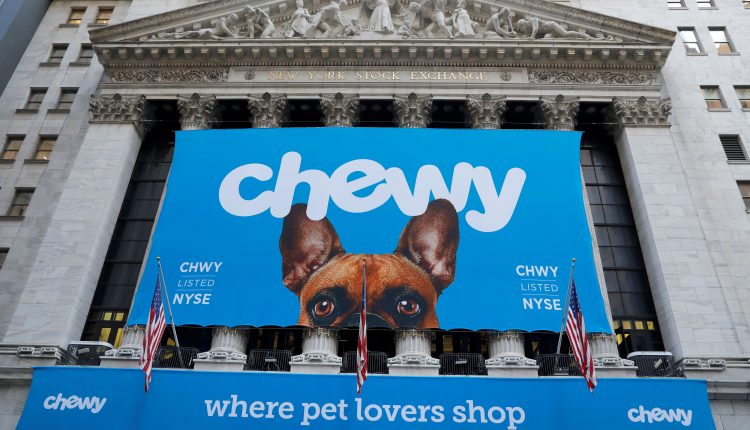 Stocks making the biggest moves after the bell: Chewy, Lululemon
