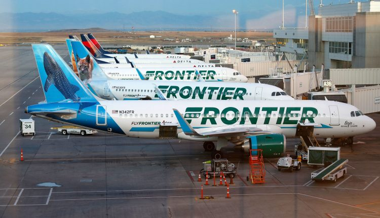 Budget airline Frontier Airlines files for an IPO … again