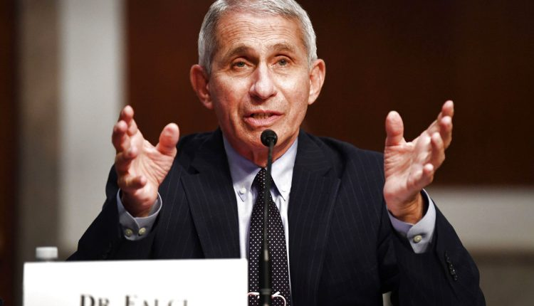 Fauci warns U.S. cases may 'plateau again at an unacceptably