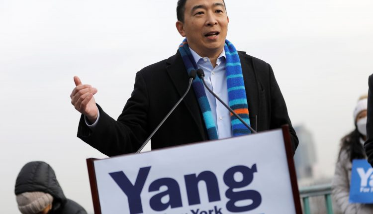Andrew Yang's NYC universal basic income plan would see MSG,