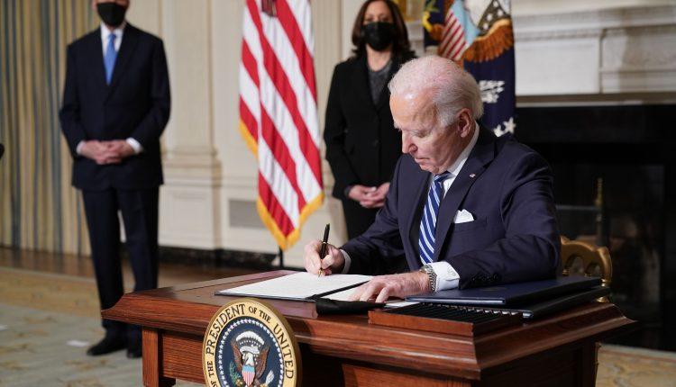 Biden infrastructure plan spending on climate change, clean energy