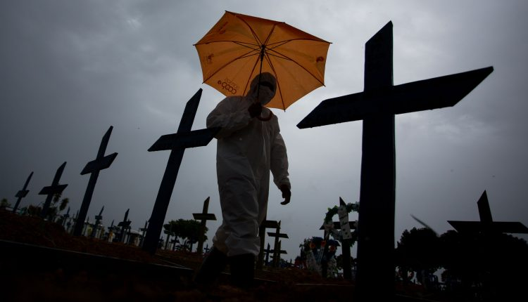 Covid in Brazil 'completely out of control,' says Sao Paulo-based