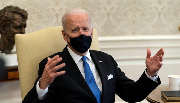 Biden slams governors for lifting mask mandates, calls it 'Neanderthal
