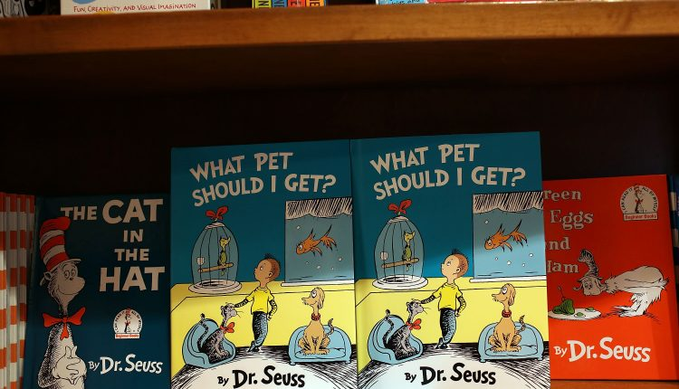 Dr. Seuss books shoot to the top of Amazon's bestseller