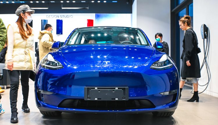Tesla's China-made Model Y takes off despite holiday car sales