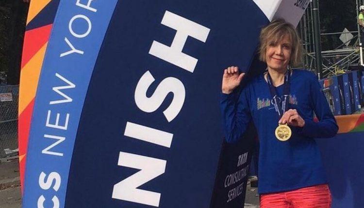 Liesbeth Stoeffler, 61, Runner Kept Going by Rare Lung Treatment,