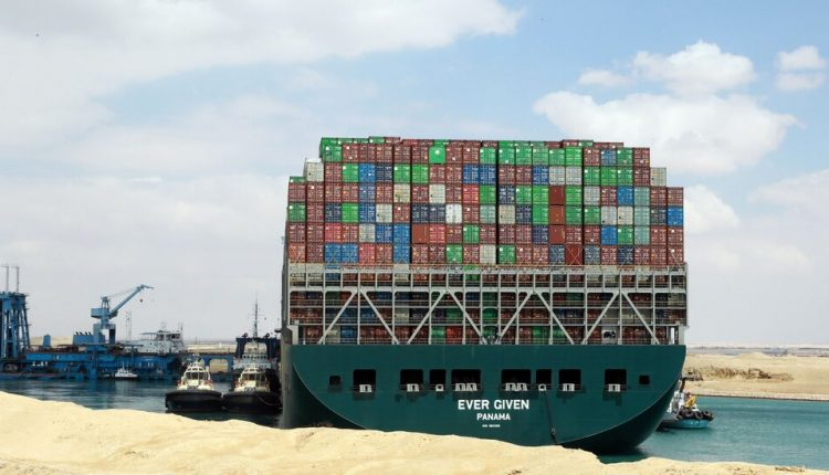 In Suez Canal, Stuck Ship Is a Warning About Excessive