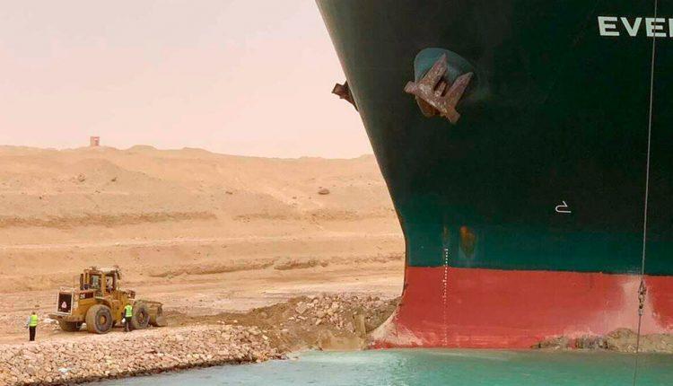 Why The Internet Loves the Suez Canal Stuck Ship Saga