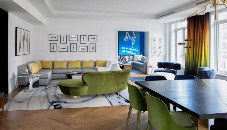 A NYC Apartment Reimagined With Bold Colors Inspired by a
