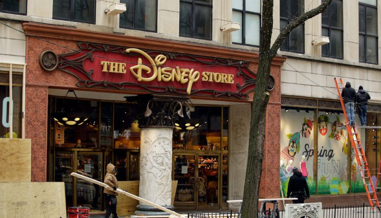 Disney plans to close a significant portion of its stores