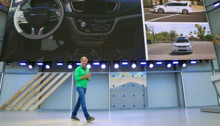 The C.E.O. of the self-driving car company Waymo will step