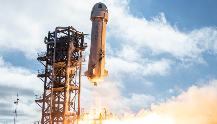 Jeff Bezos' Blue Origin launches New Shepard rocket NS-15 test