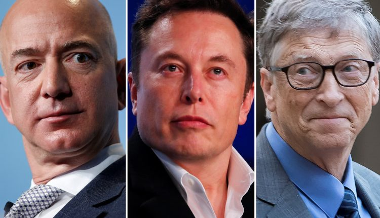 Bill Gates, Jeff Bezos, Elon Musk fight climate issue in